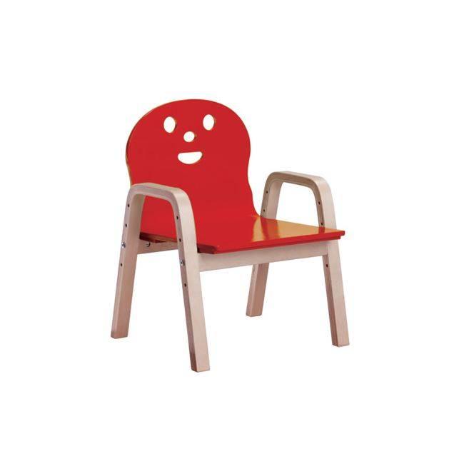 KID-FUN Παιδική Πολυθρόνα Σημύδα/Κόκκινο Ε7202,4