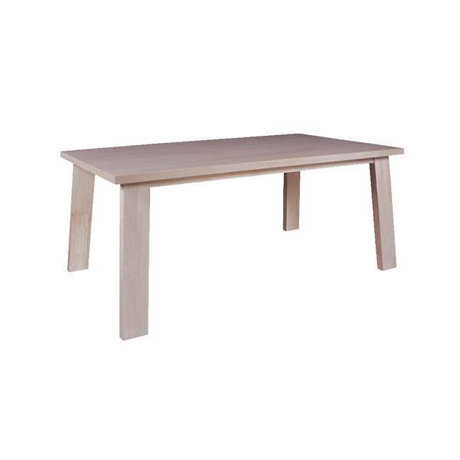 GIBSON Τραπέζι 180x100cm White Wash Ε7764