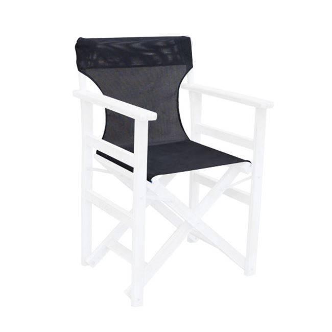 Σκηνοθέτη Textilene Μαύρο 550gr/m2 Ε777,4Τ