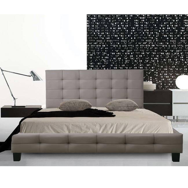 FIDEL Κρεβάτι 160x200cm Pu Cappuccino Ε8053,3
