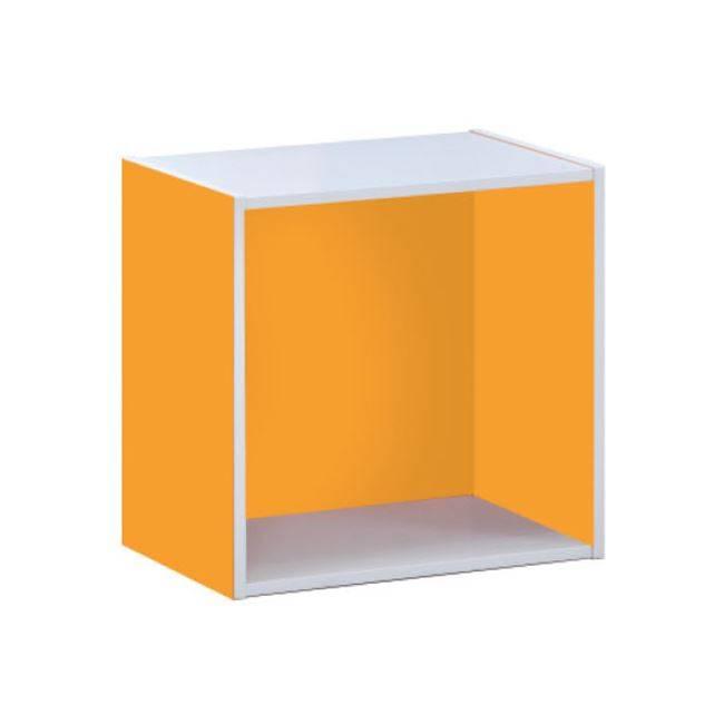 DECON CUBE Κουτί 40x29x40cm Πορτοκαλί Ε828,4