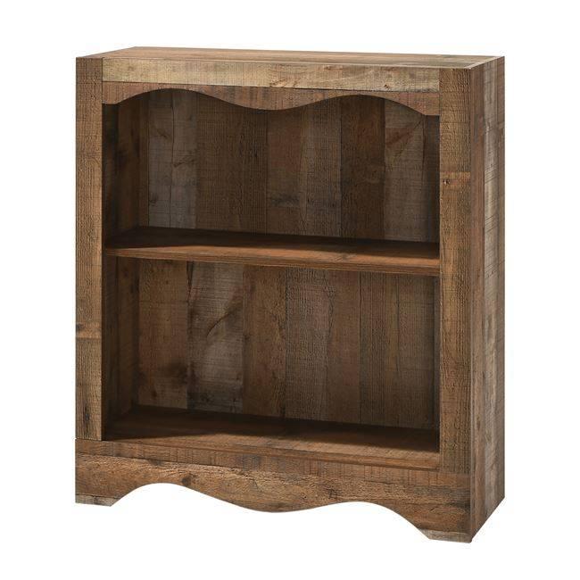 SCARLET Βιβλιοθήκη 1-Ράφι 83x32x95cm Antique Oak Ε8715