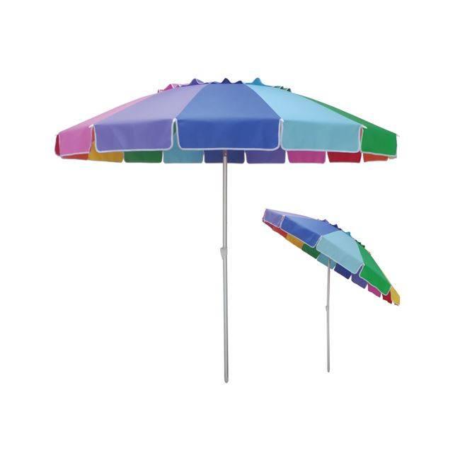 ΟΜΠΡΕΛΑ Giga Φ220cm/Alu-29mm 16-ακτ.Ύφ.Rainbow αδιάβροχο Ε903,2