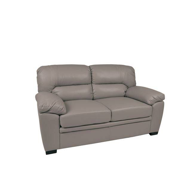 IMPERIAL Καναπές 2-Θ Bonded Leather/PU Γκρι Ε9421,21