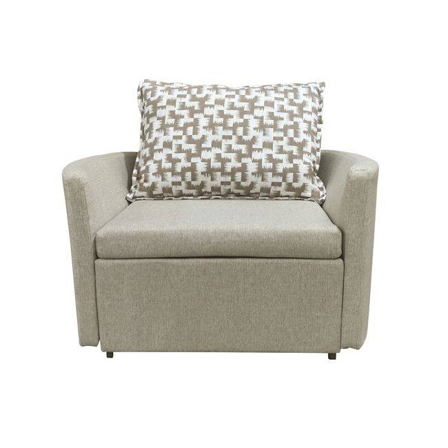 ADAMS Πολυθρόνα-Κρεβάτι Ύφασμα Μπεζ Ε9432,11