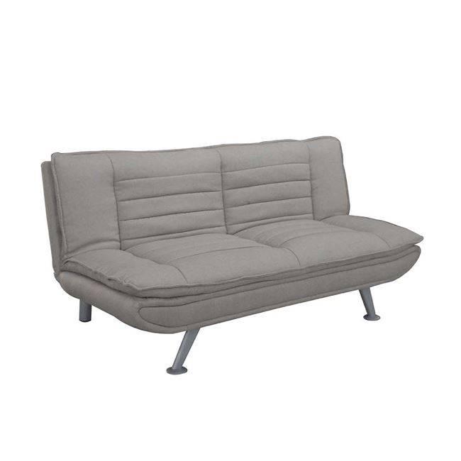 ELVIRA Καναπ.Κρεβάτι Ύφασμα Μπεζ 183x88x85cm Ε9436,2