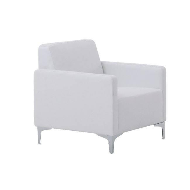 STYLE Πολυθρόνα K/D Pu Άσπρο Ε948,11