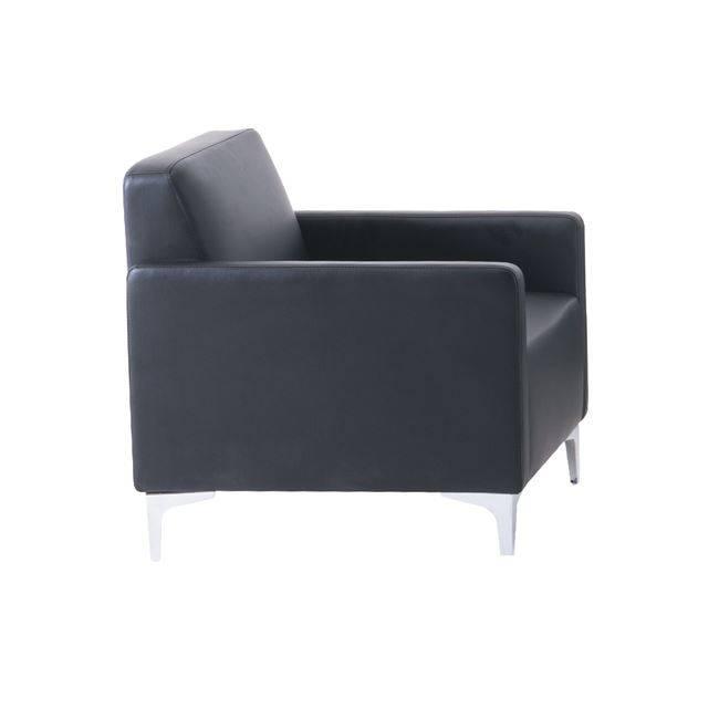 STYLE Πολυθρόνα K/D Pu Μαύρο Ε948,12