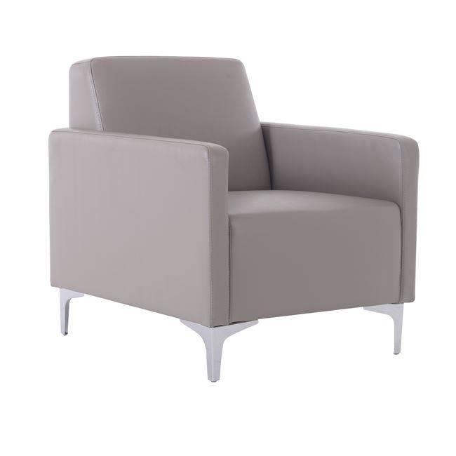 STYLE Πολυθρόνα K/D Pu Sand-Grey Ε948,14