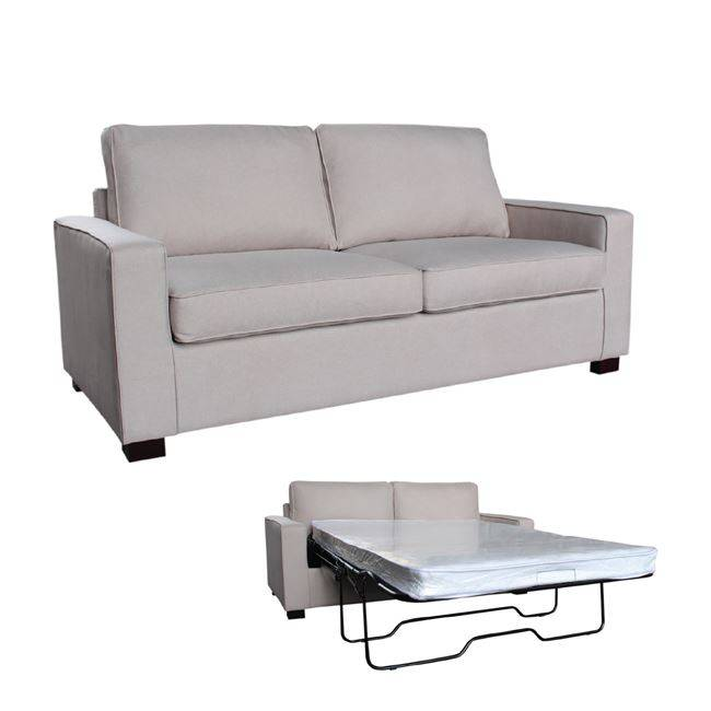 CAMPEL Καναπές-Κρεβάτι Ύφασμα Μπεζ Ε9634,1
