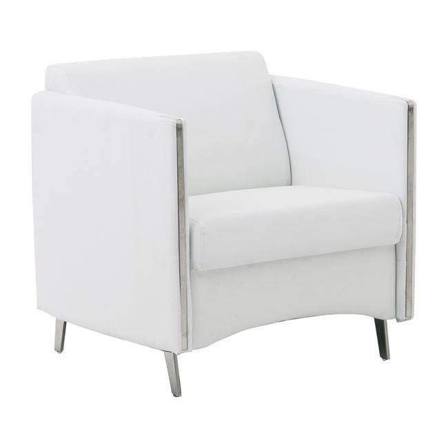 ONTARIO Πολυθρόνα K/D Pu Άσπρο Ε967,11
